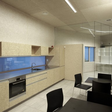 highly sustainable office utility areas