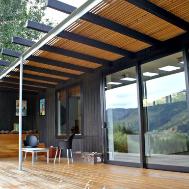 Queenstown residential design deck